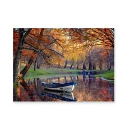 Mirror Pond Lakes / Rivers / Streams Jigsaw Puzzle