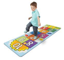 Hop & Count Hopscotch Rug Activity - Educational