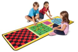4-in-1 Game Rug Children's Games