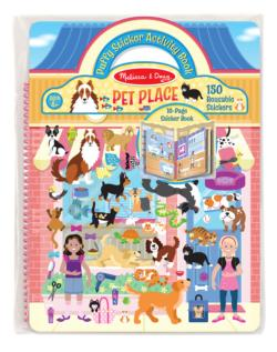 Puffy Sticker Play Set - Pet Shop Dexterity Toy