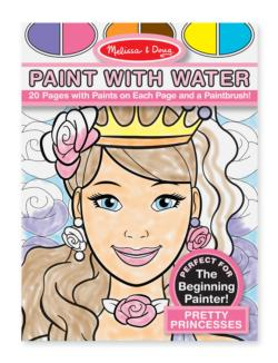 Paint with Water - Pretty Princesses Activity Kits
