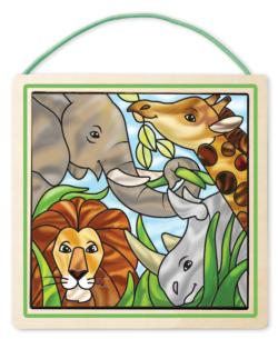 Peel & Press Stained Glass - Jungle Arts and Crafts