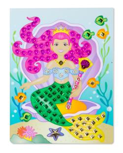 On-the-Go Crafts - Sequin Art - Mermaids Activity Book and Stickers