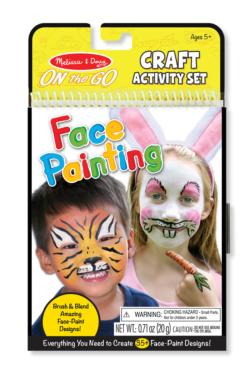 On-the-Go Crafts - Face Painting Activity Book and Stickers