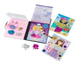 On-the-Go Crafts - Sequin Art - Fashion Activity Book and Stickers