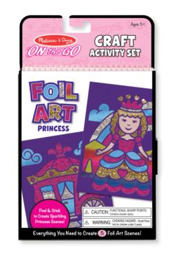 On-the-Go Crafts - Foil Art Princesses Activity Book and Stickers