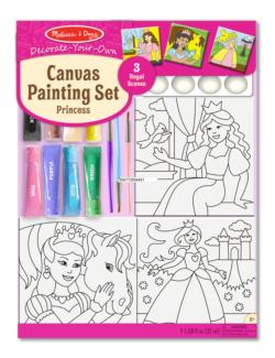 Canvas Painting Set - Princess Princess Activity Kits