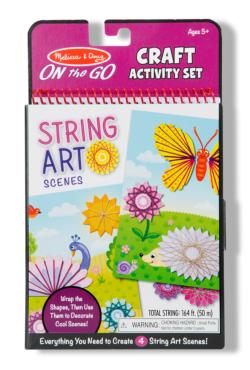 String Art Scenes Activity Kits