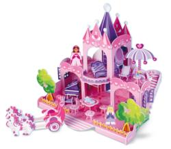 Pink Palace Princess 3D Puzzle