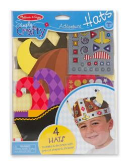 Simply Crafty - Adventure Hats Arts and Crafts