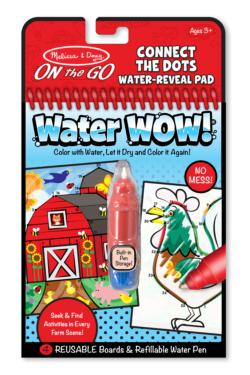 Water Wow! Connect the Dots Activity Book and Stickers