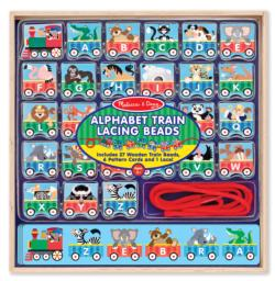 ABC Lacing Train Dexterity Toy