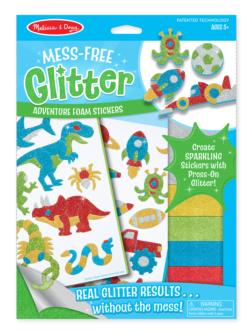 Cool Creatures Foam Stickers Arts and Crafts