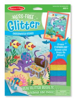 Meff-Free Glitter - Underwater Scenes Marine Life Arts and Crafts