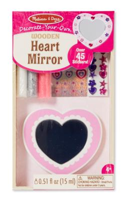 DYO Heart Mirror Arts and Crafts