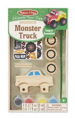 DYO Monster Truck Arts and Crafts