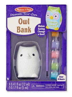 DYO Owl Bank Arts and Crafts