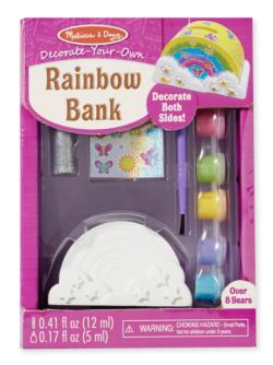 DYO Rainbow Bank Arts and Crafts