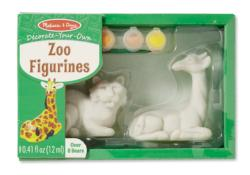 Zoo Figurines Arts and Crafts