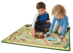 Round the Rails Train Rug Vehicles Toy