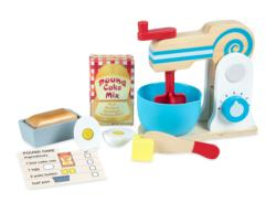 Make-A-Cake Mixer Set Wooden