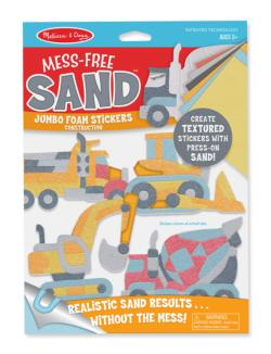 Jumbo Foam Stickers - Construction Activity Kits