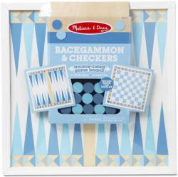 Backgammon & Checkers - Blue