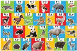 Animal Alphabet Alphabet/Numbers Children's Puzzles