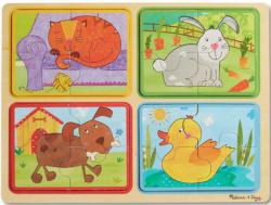 Green Start Wooden Puzzle - Playful Pals Dogs Multi-Pack