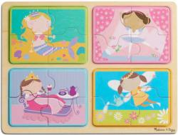 Green Start Wooden Puzzle - Little Princess Mermaids Multi-Pack