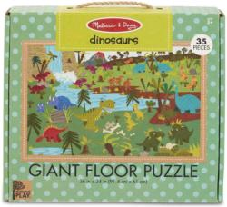 Green Start Giant Floor Puzzle - Dinosaurs Dinosaurs Floor Puzzle