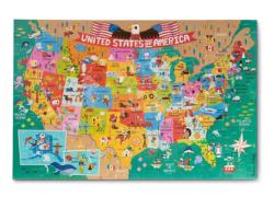 America the Beautiful United States Children's Puzzles