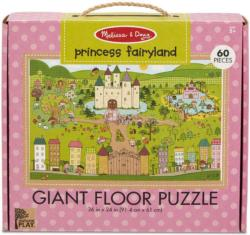 Green Start Giant Floor Puzzle - Princess Fairyland - Scratch and Dent Fairies Floor Puzzle