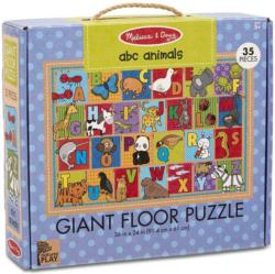 Green Start Giant Floor Puzzle - ABC Animals Alphabet/Numbers Children's Puzzles
