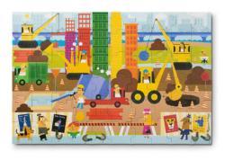 Big Builder Vehicles Children's Puzzles