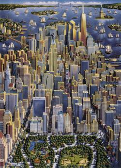 New York Skyline / Cityscape Jigsaw Puzzle
