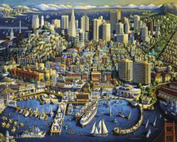 San Francisco Cities Jigsaw Puzzle