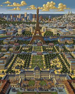 Paris Eiffel Tower Jigsaw Puzzle