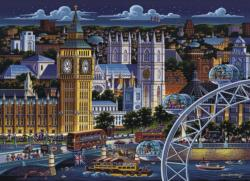 London Folk Art Jigsaw Puzzle