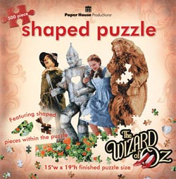 Poppy Field (Oz) Wizard of Oz Jigsaw Puzzle