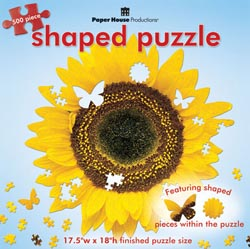 Sunflower Mother's Day Jigsaw Puzzle
