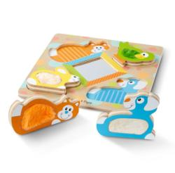 Peek-a-Boo Animals Chunky / Peg Puzzle