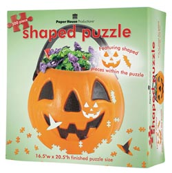 Trick or Treat Bucket Halloween Jigsaw Puzzle