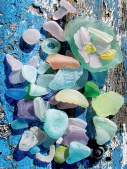 Sea Glass Photography Jigsaw Puzzle