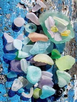 Sea Glass Photography Jigsaw Puzzle