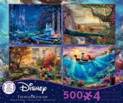 "Thomas Kinkade 4-in-1 ""The Disney Collection"" Disney Multi-Pack"