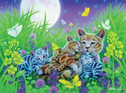Family Cat (Furry Friends) - Scratch and Dent Cats Jigsaw Puzzle