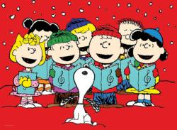 Carolers Christmas Jigsaw Puzzle