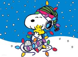 Holiday Snoopy Christmas Jigsaw Puzzle