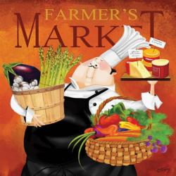 Farmer's Market, 300 piece, Oversized Food and Drink Large Piece